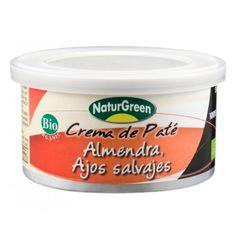 "Crema de Paté de Almendra y Ajos Salvajes ""NATURGREEN"""