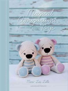 Amigurumi Stuffed Bears... I would give them happier facial expressions, though!
