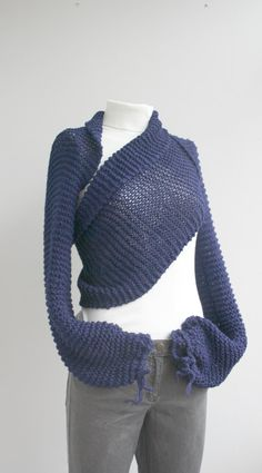 Perhaps upcycle a large sweatshirt or sweater...