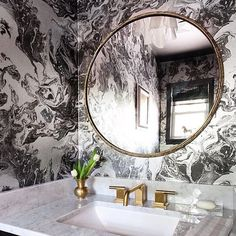 Gold tapware  by acsbathrooms #bathroomremodeling #bathroomdesign #bathroomideas