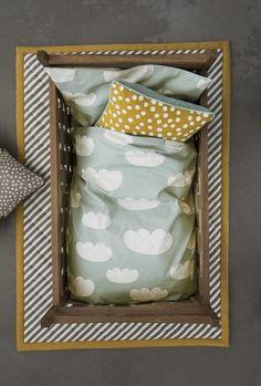 Clouds (Mint) Bedding