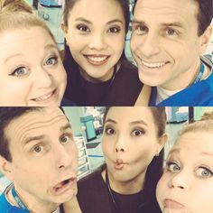 Amanda, Crystal and Jason Casualty Cast, Holby City, Behind The Scenes, Amanda, Tv Shows, Dads, It Cast, Fandoms, Crystal