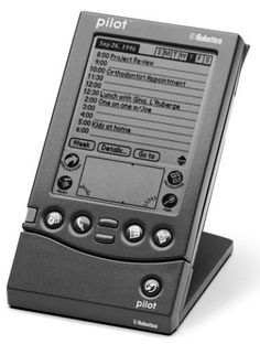 Retromobe - retro mobile phones and other gadgets: Palm Pilot 1000 and 5000 (1996)