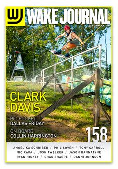 September 8th, 2014 - Wake Journal 158 is here with Jibtopia's Clark Davis on the cover! Download the Wake Journal App, subscribe and get all 40 issues for just $1.99! http://www.wkjr.nl/app