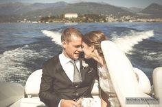 Wedding on Lake Maggiore - Isole Borromeo - Bride and Groom | #michelarezzonico #weddingphotographer @stefanyguastini #guastinistyle #weddingplanner