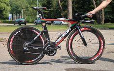 Nelson Oliveira's Merida Warp TT, Tour de France - 2015