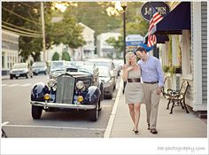 New England Styled Engagement Session