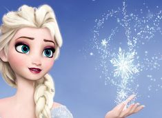 *ELSA (The Snow Queen) ~ Frozen, 2013.... the cold never bothered me anyway.