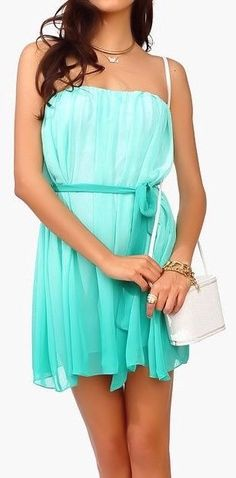 Mint Ombre Dress ❥