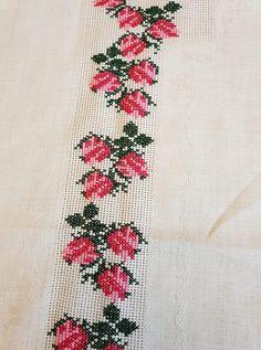 Cross Stitch, Crochet, Model, Cross Stitch Embroidery, Towels, Funny Cross Stitches, Gems, Punto De Cruz, Fruit