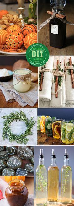 DIY CHALLENGE: Herbs & Spices #craft #diycraftchallenge #november
