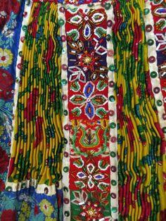 Detail of beaded Kalotaszegi apron Photo credit: Linda Teslik Textile Patterns, Embroidery Patterns, Folk Costume, Costumes, Folk Clothing, Hungarian Embroidery, Folk Dance, Beaded Embroidery, Fiber Art