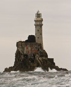 Fastnet Lighthouse - Mizen Head - Co. Cork, Ireland - Most Westerly light house in Ireland - (last one before America)