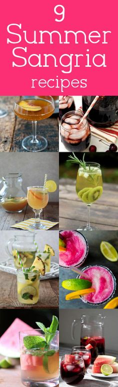 9 Outrageously Delicious and Creative Sangria Recipes for Summer