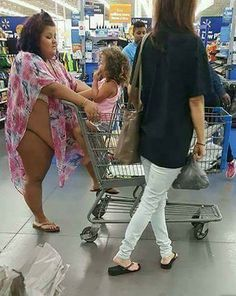 Cover Ups at Walmart - Funny Pictures at Walmart There ain't enough fabric at the store to cover up that thing.