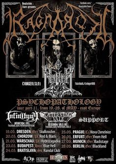 Long Live The Loud 666: RAGNAROK PSYCHOPATHOLOGY TOUR PART II EAST EUROPE