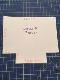Cestino in tessuto Sewing Projects For Beginners, Projects To Try, Leather Bag Pattern, Fabric Boxes, Sewing Aprons, Idee Diy, 20 Min, Sewing Crafts, Diy And Crafts