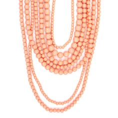 Layered Coral Necklace - Buy From ShopDesignSpark.com