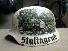 Wehrmacht hjelm .. maybe stalingrad model