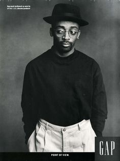 """Individuals of Style"" Gap campaign, Spike Lee, 1989."