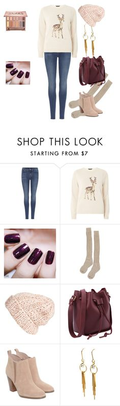 """""""Cozy shopping"""" by unpocoboho on Polyvore featuring 7 For All Mankind, Dorothy Perkins, Black Orchid, Samantha Holmes, Free People, Michael Kors and Urban Decay"""