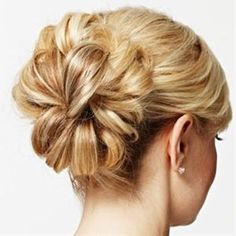 Hair Updo for Wedding - Glamorous Wedding Updo Hairstyle - Real Beauty