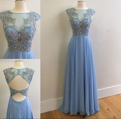 New Arrival Prom Dress,O-Neck Dress, Evening Prom Dress
