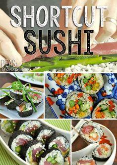 Shortcut Sushi Rolls