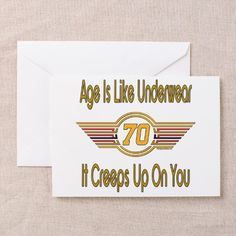 Funny 70th Birthday Greeting Card On CafePress Poems 50th Greetings