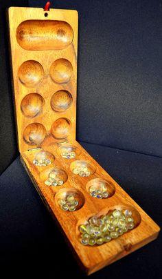 Wooden #mancala #game #handmade in #Thailand! #fairtrade