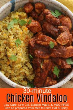 30-Minute Chicken Vindaloo   Kitchen Dreaming