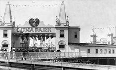 Seattle Now & Then: Luna Park Entrance West Seattle, Seattle Times, Seattle Washington, Washington State, Vashon Island, Bainbridge Island, Emerald City, Coney Island, Local History