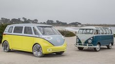 VW to relaunch Kombi van as electric vehicle - BBC News