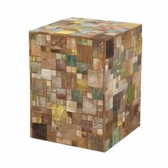 Artisan Square Stool | Stools | Eat | Products | LH Imports