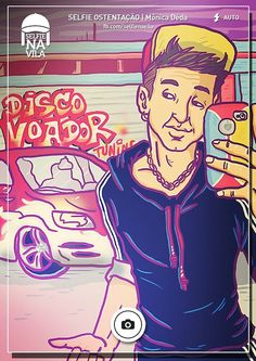 Selfie na Vila ! - Cheguei Aos Dezoito