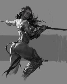 Some practice about Orc. See more from my…
