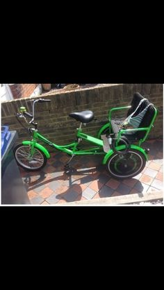 Trike Adult Bike With Two Child Seats. Trikidoo Style Family Bike in Sporting Goods, Cycling, Bikes | eBay