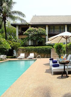 Housed inside a former French colonial mansion, Sunset Villa by Burasari offers guests a taste of classic Indochine elegance. #Indistay | Luang Prabang, Laos