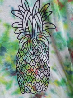 3XL tie dye pineapple tshirt for your next luau from Anything on a Tie Dye at Creations by Maris https://www.etsy.com/listing/464641427/3xl-pineapple-shirt-extra-large