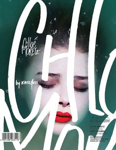 Gorgeous magazine cover design