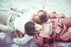 Wings Concept Photo   Jimin (Park Jimin) Suga (Min Yoongi)   BTS   2016    @hazzaynn
