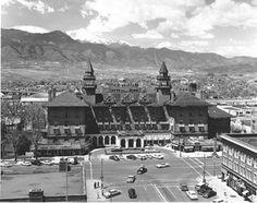 Antlers Hotel ~ Colorado Springs Colorado ~ 1956