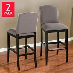 Add style and function to any room with an elegant high-end counter-height bar stool from Costco. The perfect addition to your kitchen island, pub table, deck or bar.