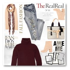 """Fall Style With The RealReal"" by sneky ❤ liked on Polyvore featuring The Row, Burberry, Reed Krakoff, Maison Margiela and Sinclair"