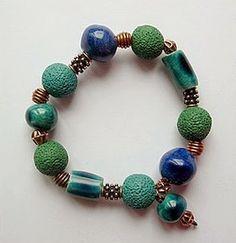 Bracelet by MISSTYC | Polymer Clay Planet
