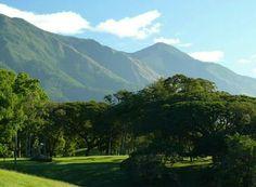 Vista desde el Parque Generalísimo Francisco de Miranda del Parque Nacional Waraira Repano, Caracas Venezuela