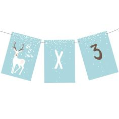 Let It Snow 'Blue' Bunting