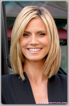 Heidi Klum hair and make up