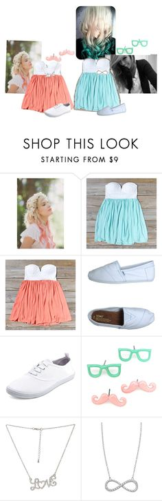 """Hai loves. We're still lonely as ever. Aha. And Hollie got her hair dip dyed. ~Mollie"" by one-direction-anonsxo ❤ liked on Polyvore featuring Whichgoose, TOMS, Charlotte Russe, Wet Seal and Lafonn"