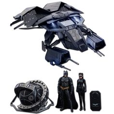 The Bat with Batman, Selina Kyle and Fusion Reactor - Hot Toys